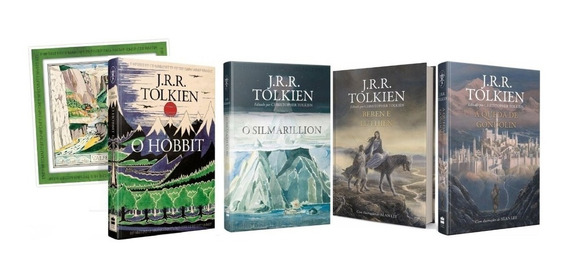 Kit- O Hobbit + Pôster+o Silmarillion+2livros Frete Grátis