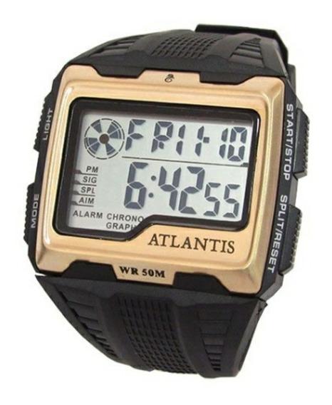 Relógio Atlantis Digital Original + Caixa