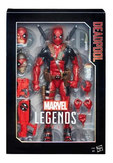 Figura De Ação - 30 Cm - Marvel Legends Series - Deadpool