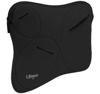 Lote 5 Bolsas Pretas Lifetech Capas - Notebook 10 Polegadas