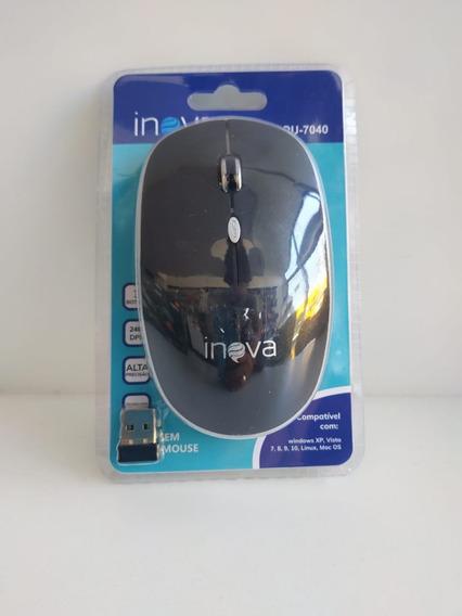 Novo Mouse Inova 2400 Dpi Sem Fio
