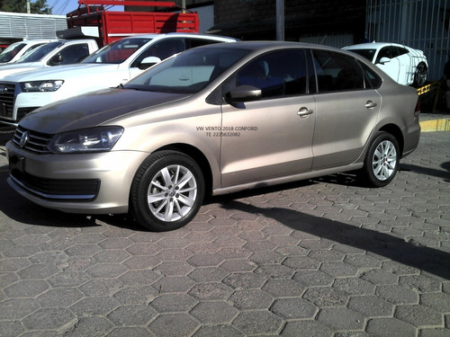 Imagen 1 de 9 de Volkswagen Vento 2018 Confordline 1.6 Lts  Eng $ 39.000