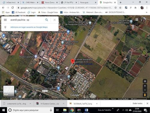 Área À Venda, 69767 M² Por R$ 21.000.000,00 - Betel - Paulínia/sp - Ar0325