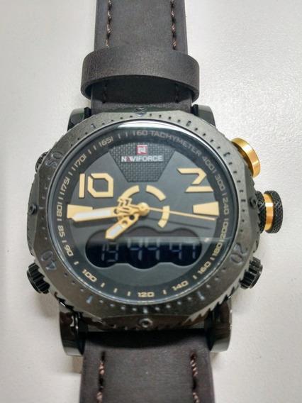 Relógio Naviforce Estilo Militar Nf9094m