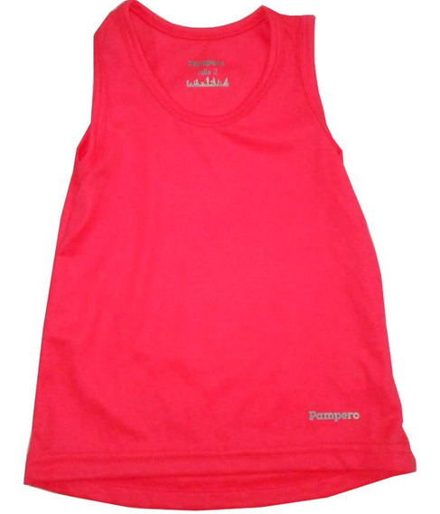 Remera Musculosa Deportiva Infantil Marca Pampero