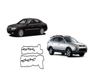 Par Junta Tampa Valvula Hyundai Azera 3.3 V6 Vera Cruz 3.8