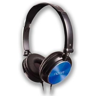 Auricular Headset Noganet Ng-1515 Azul Vincha Fact A-b