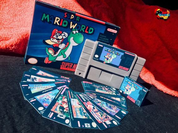 05 Caixas Para Jogos De Super Nintendo