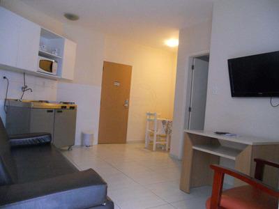 Flat Com 1 Dorm, Gonzaga, Santos - R$ 250 Mil, Cod: 13594 - V13594