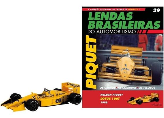 Lendas Brasileiras -edição 39 - Lotus 100t - Nelson Piquet
