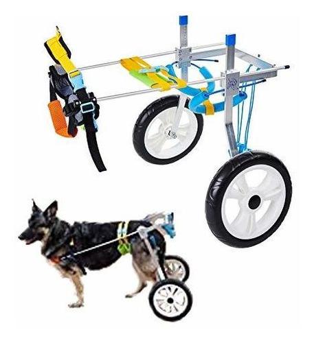 Imagen 1 de 7 de Silla De Ruedas Para Mascotas  Discapacitados Patas Traseras