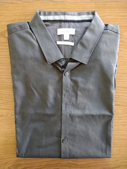 Camisa Calvin Klein - Mangas Largas Importado Nuevo (#356)