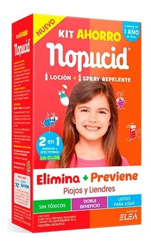 Nopucid Kit Ahorro Loción+spray Repelente Magistral Lacroze