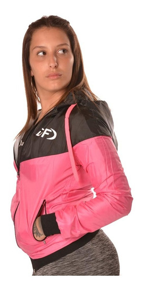 Campera Deportiva Rompeviento Mujer Deportes Full Df Ropa