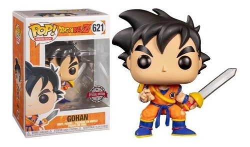Funko Pop Gohan #621 Dragon Ball Special Edition With Sword