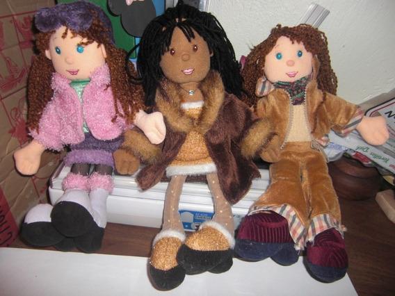 Muñecas De Trapo Hermosas Y Coquetas