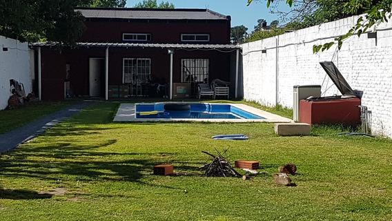 Casa En Alquiler Con Pileta Climatizada En Ezeiza-caning