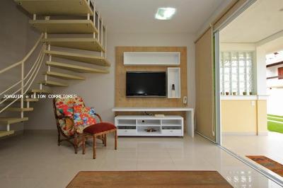 Casa Em Condomínio Para Venda Em Florianópolis, Canasvieiras, 2 Dormitórios, 1 Suíte, 3 Banheiros, 1 Vaga - Cacf 113