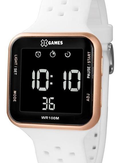 Relógio X-games Unissex Digital Quadrado - Xgppd094 Pxbx