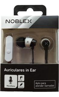 Auricular Noblex In Ear Con Microfono Manos Libres Garantia