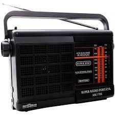 Rádio Portátil Motobrás 2fxs Am Fm Rm Pft22ac