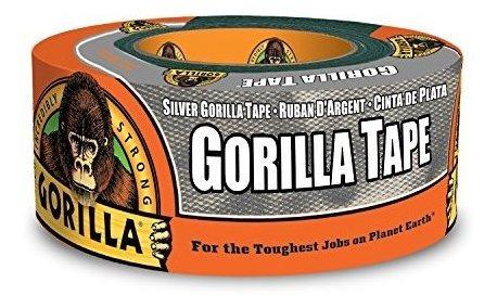 Gorila Tape Duct Tape Silver 188 X 12 Yd Silver Pack De 1