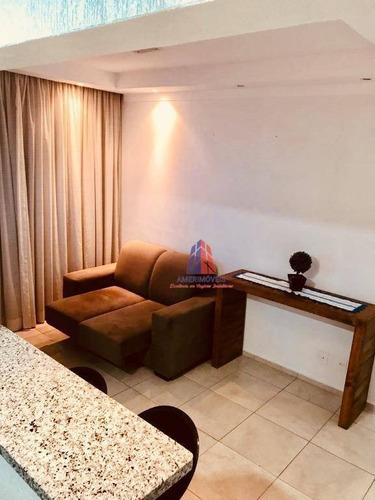 Imagem 1 de 24 de Apartamento Com 2 Dormitórios À Venda, 56 M² Por R$ 276.000,00 - Vila Santa Catarina - Americana/sp - Ap0508