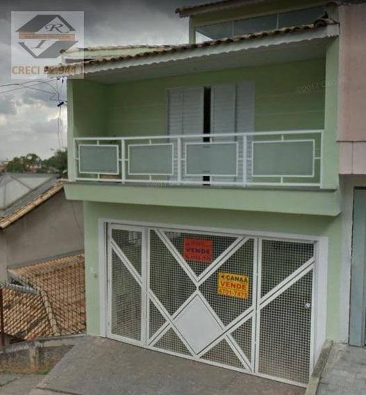 Sobrado Com 3 Dormitórios À Venda, 106 M² Por R$ 364.990,00 - Parque Das Cigarreiras - Taboão Da Serra/sp - So0640
