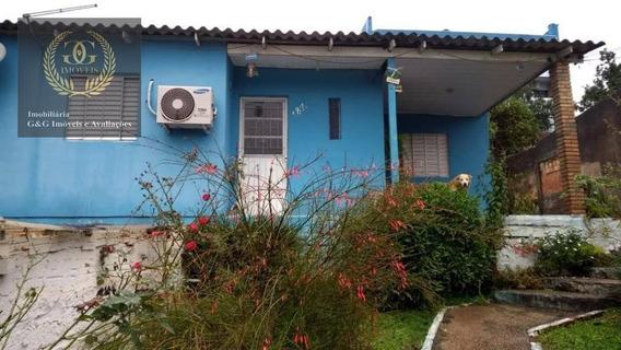 Casa Com 2 Dormitórios À Venda, 80 M² Por R$ 160.000 - Aparecida - Alvorada/rs - Ca0603