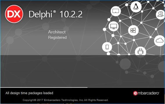 Rad Studio Delphi 10.2 Tokyo + 8 Componentes