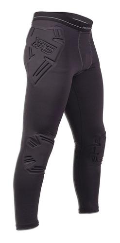 Imagen 1 de 1 de Calza Larga Con Protecciones Ironman Arquero Prostar Fivra
