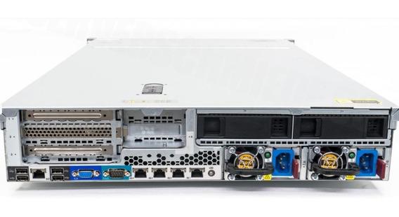 Servidor Dl380e 2 Xeon Octa Core, 64gb, 2x Ssd300gb Seminovo