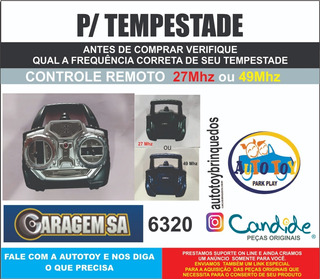Tempestade 6337 - Controle Remoto