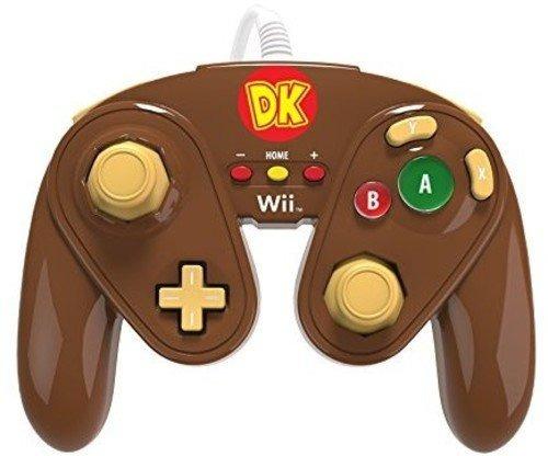 Pdp Wired Lucha Almohadilla Para Wii U - Burro Kong
