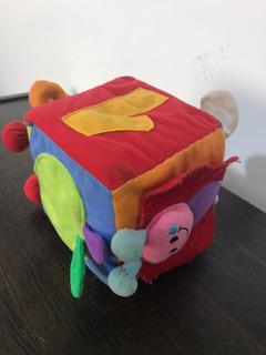 Cubo De Peluche Didáctico
