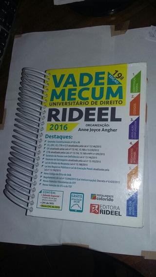 Livro:vade Mecum Universitario De Direito Ridel.