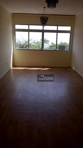 Imagem 1 de 11 de Apartamento Com 2 Dormitórios À Venda, 103 M² Por R$ 674.000,00 - Boqueirão - Santos/sp - Ap1109