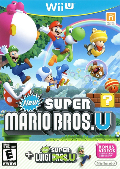 New Super Mario Bros + Luigi U! Loja Campinas