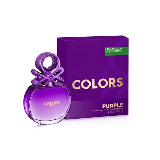 Perfume Feminino Benetton Colors Purple 50ml
