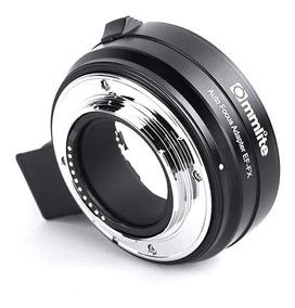 Adaptador Commlite Ef-fx Canon Fuji X-t3 X-t2 X-t1 X-t20 +nf