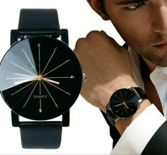Relógio Masculino Pulso Prisma Diamante Dark