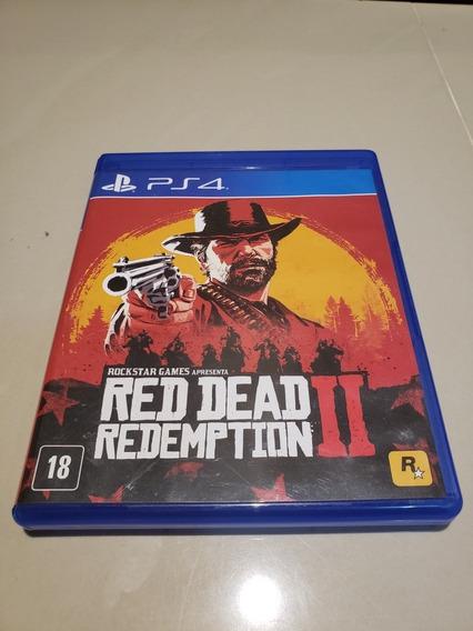 Red Dead Redemption Ps4 Midia Fisica Português Frete 15 Reai