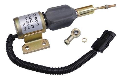 Imagen 1 de 4 de Nuevo Combustible Apagado Solenoide Para Cummins 3930658 393
