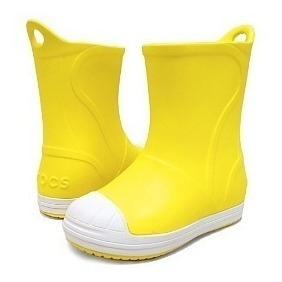 Botas Lluvia Niño Crocs Bump It Boot Yellow/oyster