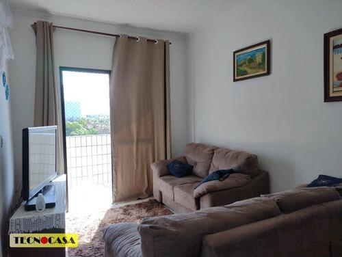 Imagem 1 de 27 de Apartamento Com 2 Dormitórios, 95 M² - Venda Por R$ 240.000,00 Ou Aluguel Por R$ 1.700,00/mês - Vilamar - Praia Grande/sp - Ap6767
