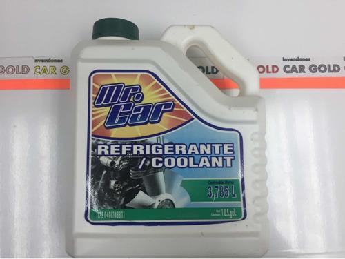 Refrigerante Mr Car Verde Coolant 3,785 L