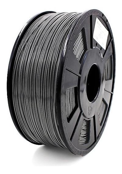 Filamento Pla 1,75 Mm Preto 1kg Para Impressora 3d
