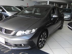Honda Civic 2.0 Exr Flex Aut 2016, Teto Solar, Pneus Novos