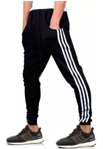 Calça De Moletom Masculina Skinny Style Casual Academia