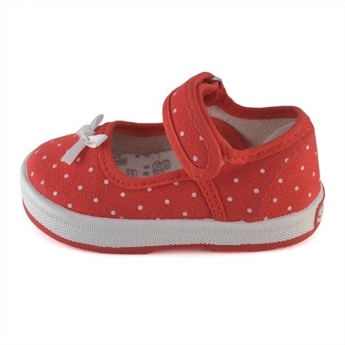 Guillermina Bebe Lunares Rojo Small Shoes